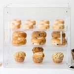 Classic Bakery Display Case U-Build 3 Tray