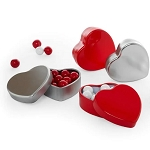 Small Heart Shaped Tin - 24ct