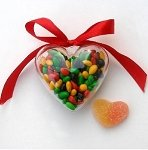 Heart Shaped Candy Box - 48ct