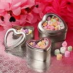 Heart Shaped Window Tins - 4oz - 24ct