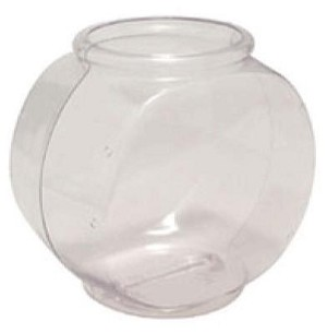 1 Gallon Drum Style Fish Bowls - 12ct
