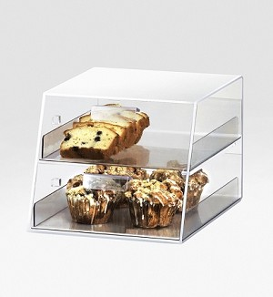 Classic Display Case - Slant Front - 2 Drawers