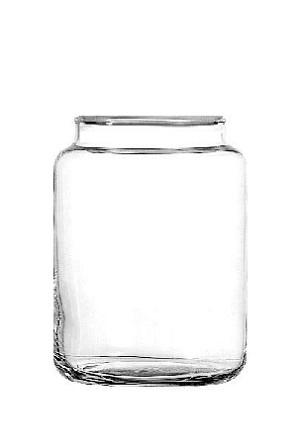 24 oz Country Kitchen Glass Jars - 12ct