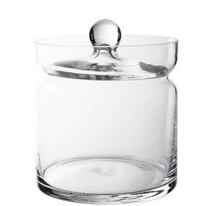 "Apothecary Candy Jar - 6""H - 8ct"