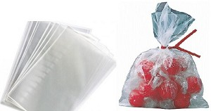 "Flat Poly Bags - 6"" x 8"" - 2000ct"