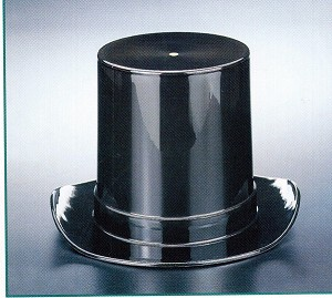 Black Top Hat Candy Dish - 12ct