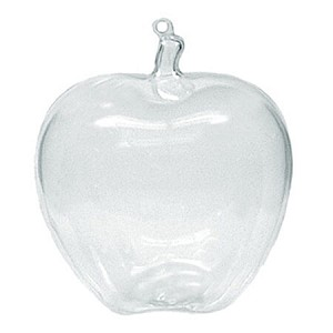 Clear Apple Candy Container - 48ct