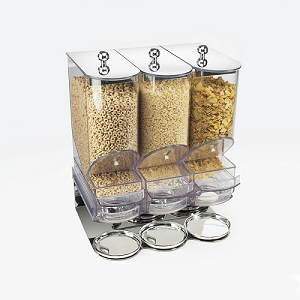 Elite Portion Control 3 Topping Dispenser