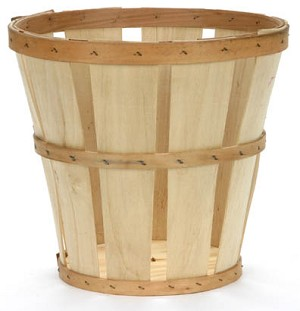 1/2 Bushel Hamper -  Color Choices - 12ct