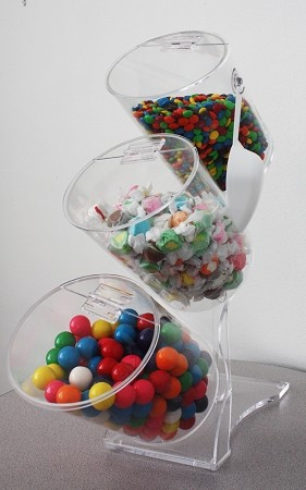 Candy Bin Display - Unique Work Of Art