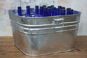Large Square Tub