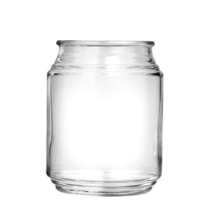 20 oz Patio Glass Jars - 12ct
