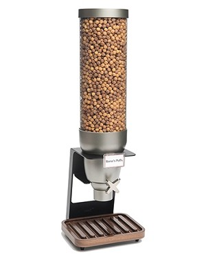 Table-top Dispenser with Walnut Tray - 1.3 Gallon